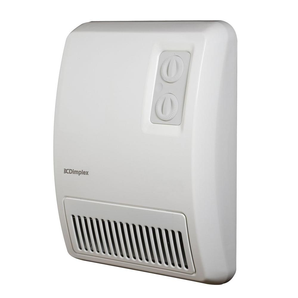 Wall mounted electric bathroom fan heaters - Dimplex 2 000 Watt Electric Deluxe Fan Forced Wall Heater