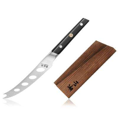 TC Series Swedish Sandvik Steel Forged 5 in. Tomato/Cheese Knife and Wood Sheath Set
