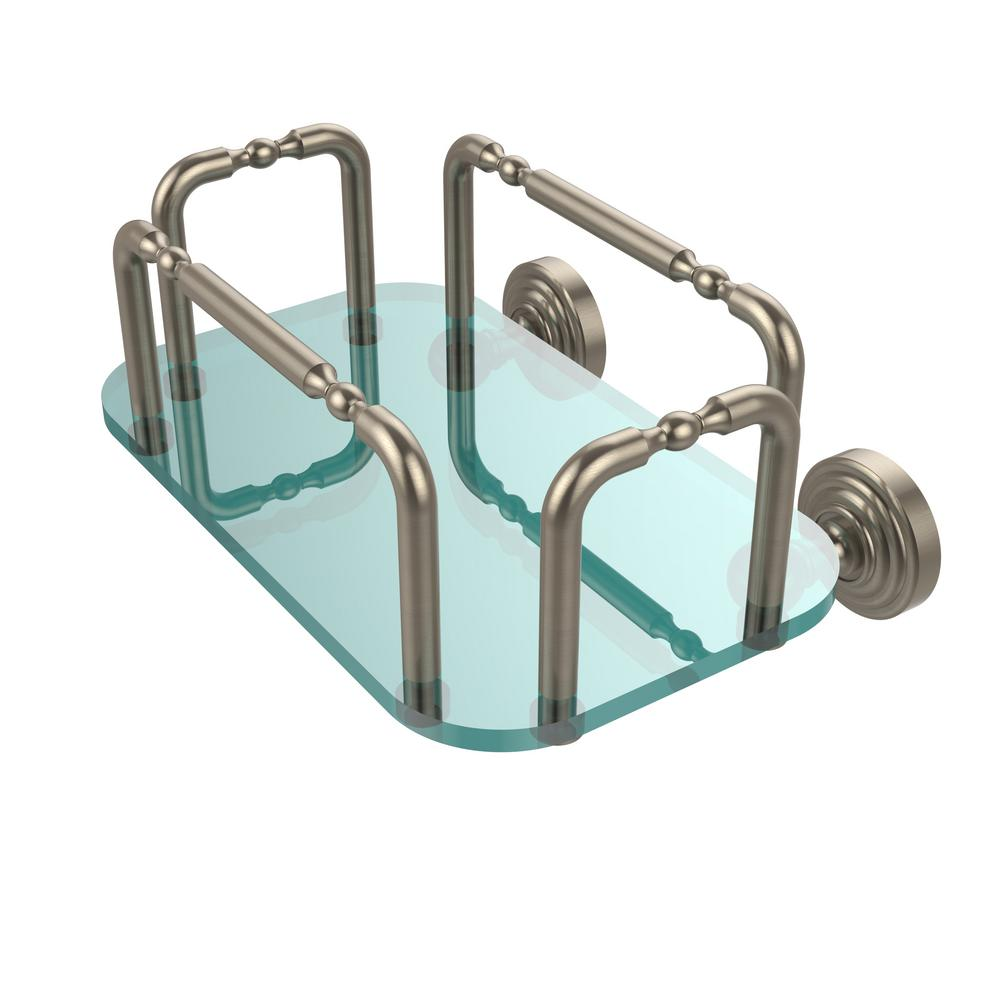 Allied Brass Waverly Place Wall Mounted Guest Towel Holder in ...