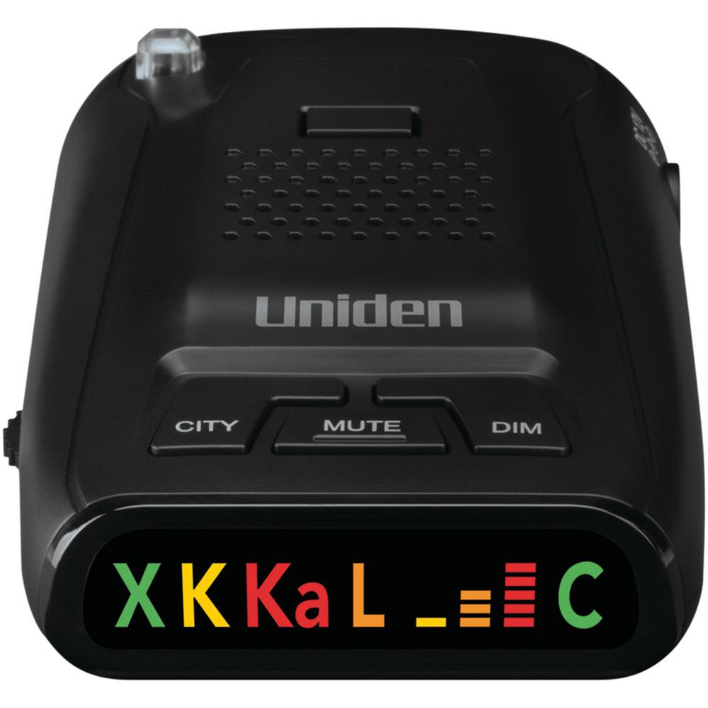 Uniden Long-Range Laser/Radar Detector When you're driving, it can be hard to keep yourself from driving faster than the speed limit. With a radar detector, you'll get a heads up that your vehicle may be targeted, giving you time to slow down and maintain the right posted speed. The Uniden DRF1 Long-Range Laser/Radar Detector excels in detection at long ranges. Drive more safely with Uniden.