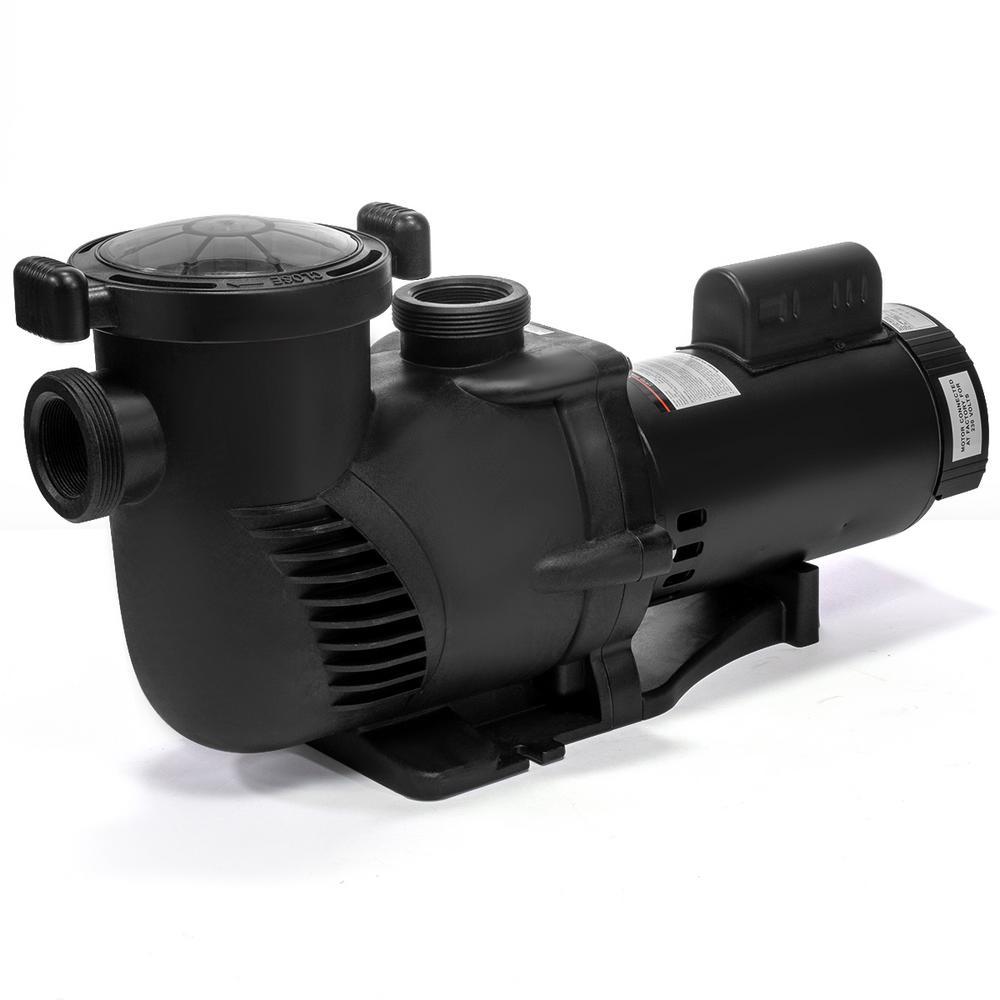 XtremepowerUS X-Flow Pro 1.5 HP In-Ground Pool Pump Single Speed Dual Watt  115/230V 5280 GPH