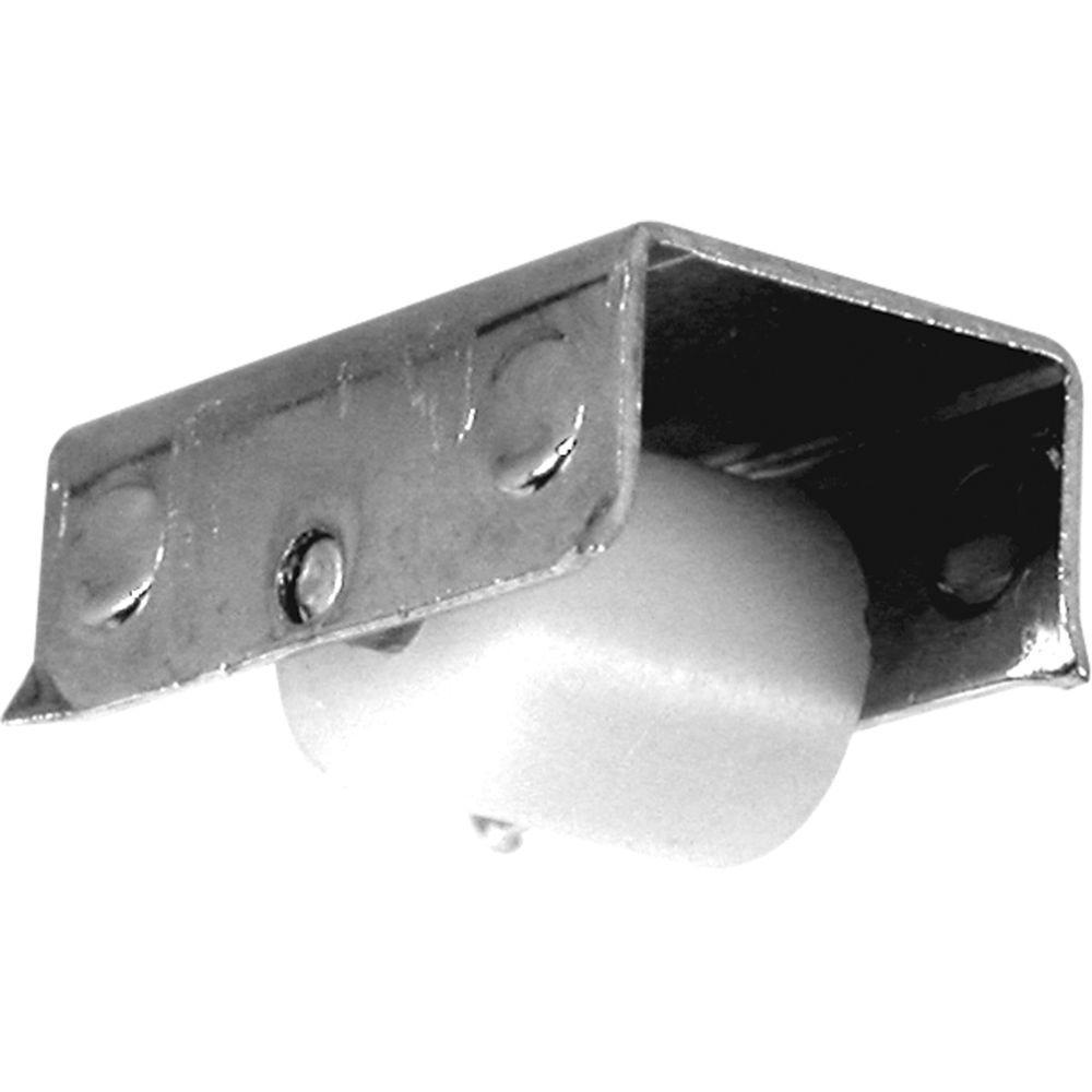 3/16 in. Flat Nylon Wheel Sliding Window Roller (2-Pack)