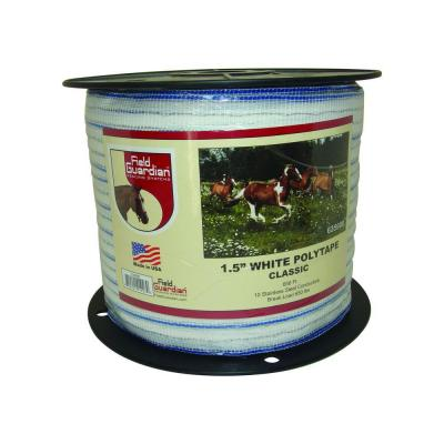 1.5 in. White Classic Polytape