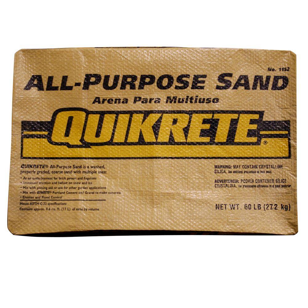 Quikrete 60 lb. All-Purpose Sand
