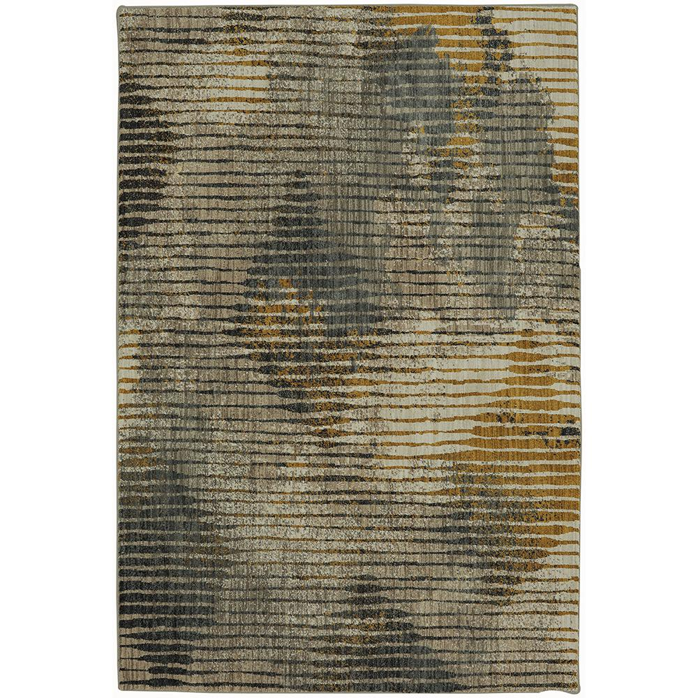 Mohawk Home Wireframe Mustard 8 ft. x 11 ft. Indoor Area Rug, Yellow was $404.6 now $242.76 (40.0% off)