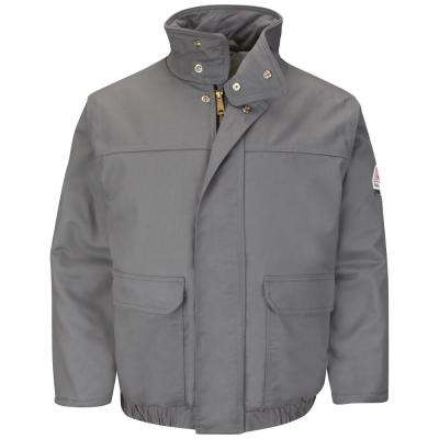 EXCEL FR ComforTouch Men's 2X-Large Grey Insulated Bomber Jacket