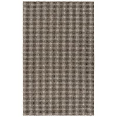 Terracina Sea Grey 10 ft. x 14 ft. Solid Indoor/Outdoor Area Rug