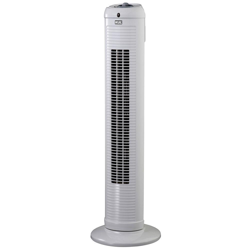 null 30 in. Oscillating Tower Fan