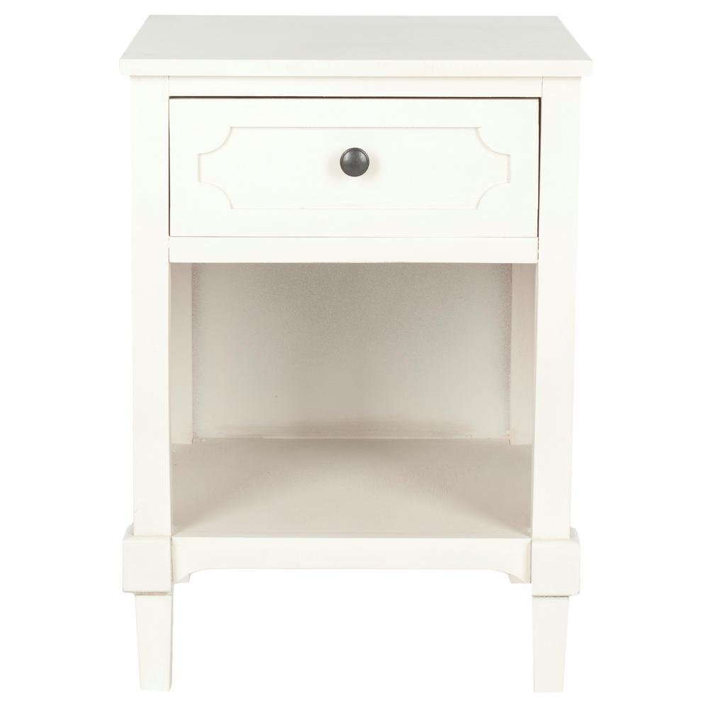 Rosaleen White Side Table