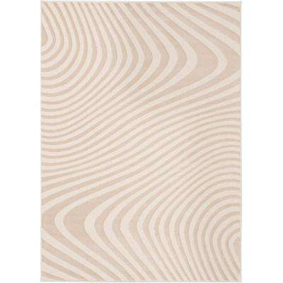 Vibe Grey 5 ft. x 7 ft. Area Rug
