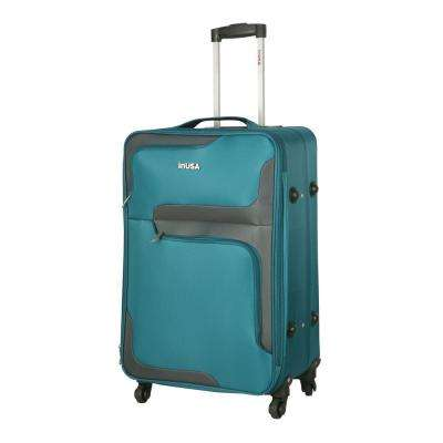 3D- City lightweight softside spinner 28 in.  Turquoise