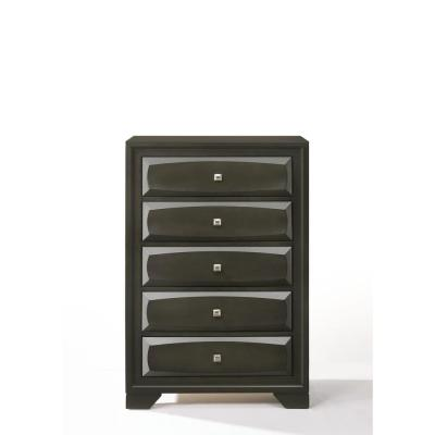 Soteris Antique Gray Chest