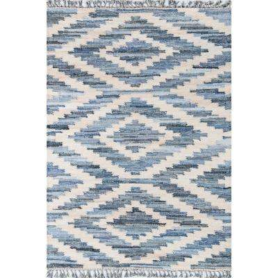 California Laguna Blue 2 ft. X 3 ft. Indoor Area Rug