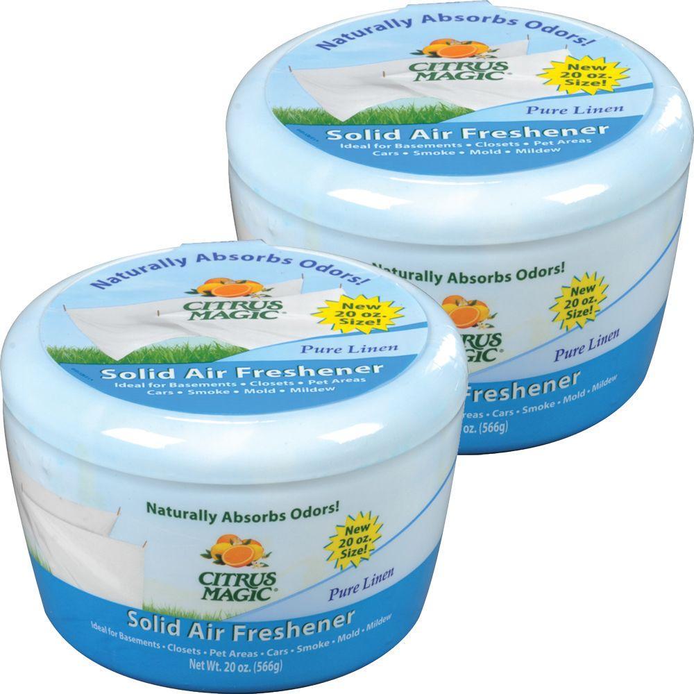 20 oz. Pure Linen Odor Absorbing Air Freshener (2-Pack)