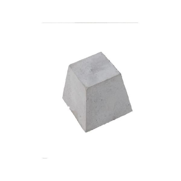 8 In X 8 In X 9 In Concrete Pyramid Block 57832 The Home Depot