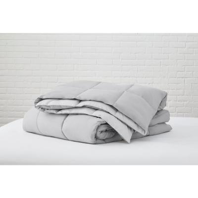 Gray Reversible Microfiber Full/Queen Comforter