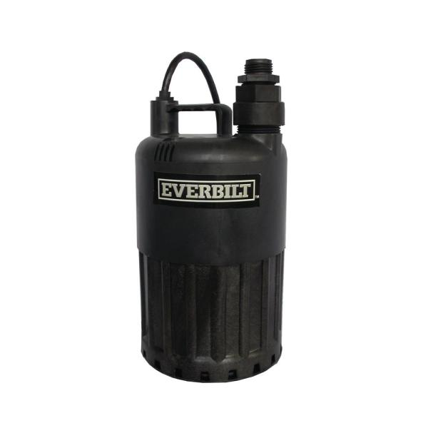 1/2 HP Waterfall Submersible Utility Pump
