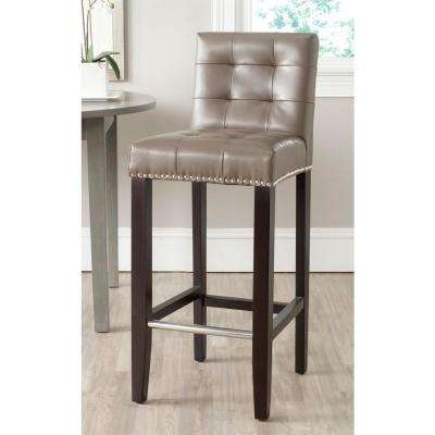 Thompson 30 in. Clay Cushioned Bar Stool