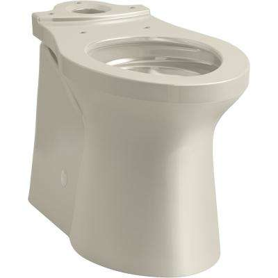 Betello Elongated Toilet Bowl Only in Sandbar