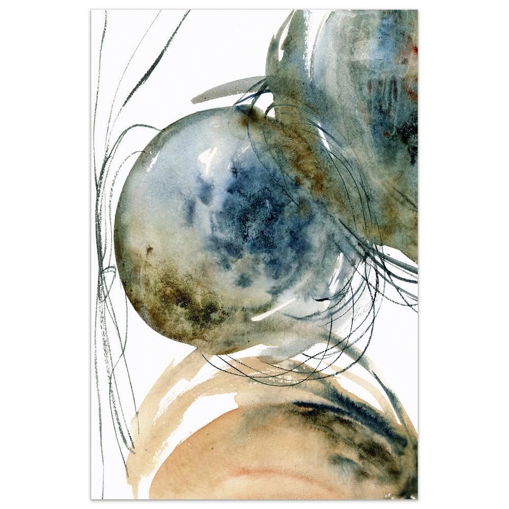 """Hibernation II"" by EAD Art Coop Frameless Free-Floating Tempered Art Glass Wall Art"