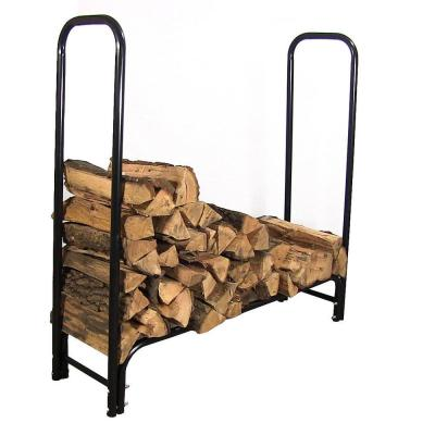 4 Foot Log Rack for Firewood /& Outdoor Storage Wood Rack Heavy Duty Waterproof Powder Coat Finish Solo Stove Station Firewood Rack Log Holder Stand for Outdoor Patio Fireplace