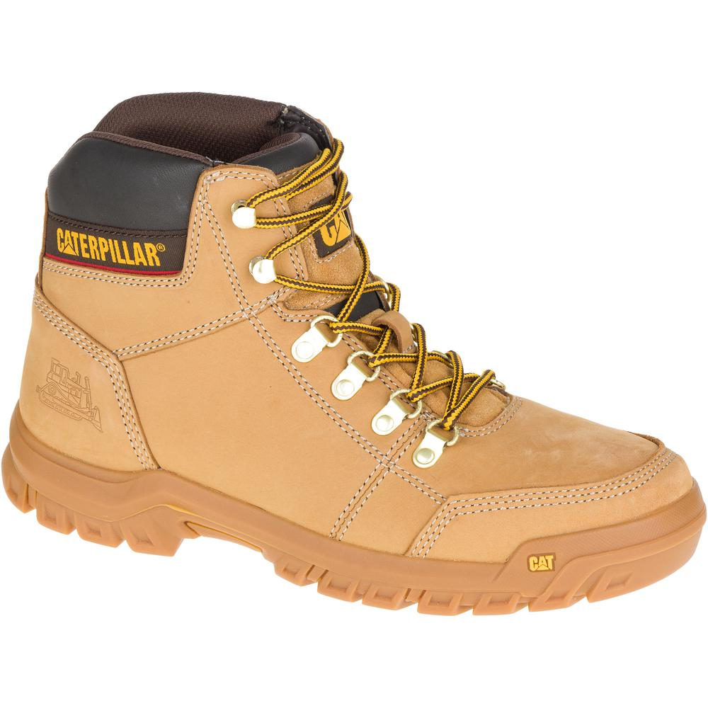 4f7219f2727 CAT Footwear Outline Men's Size 7- 1/2 Honey Boots