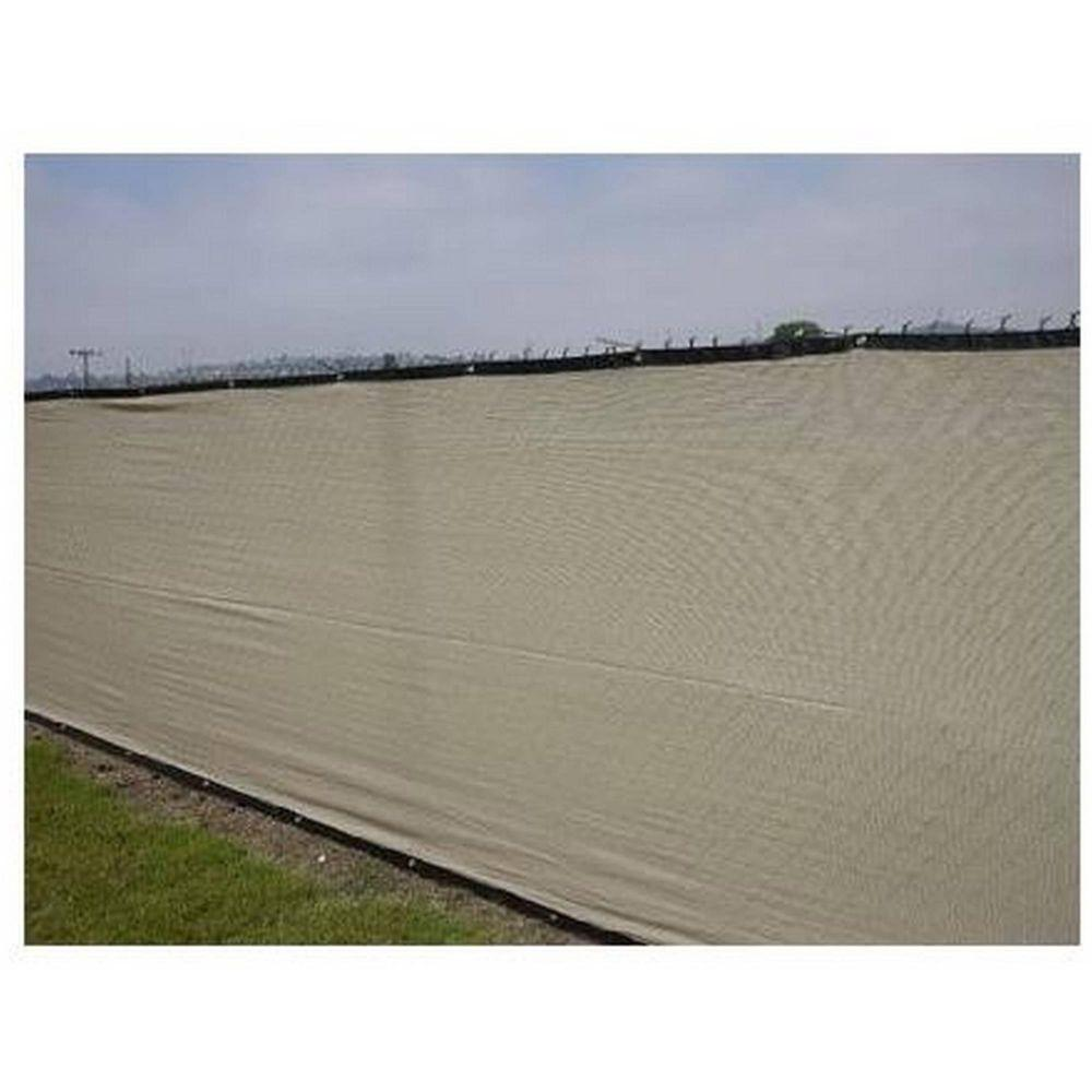 Beige Privacy Fence Screen Netting Mesh