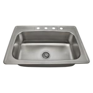 kitchen sinks direct mr direct drop in stainless steel 33 in 4 single 3004