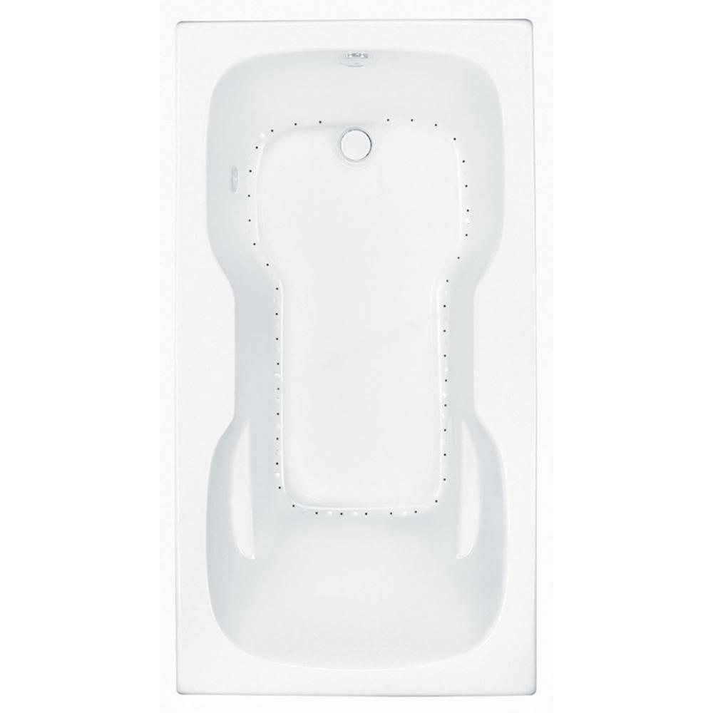 Serenity 4 - 60 in. Acrylic Reversible Drain Rectangular Drop-in Air