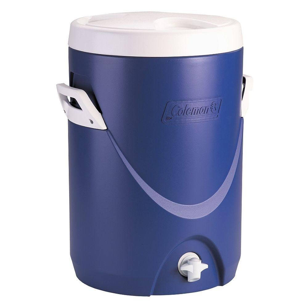 Coleman 5 Gal. Beverage Cooler Blue