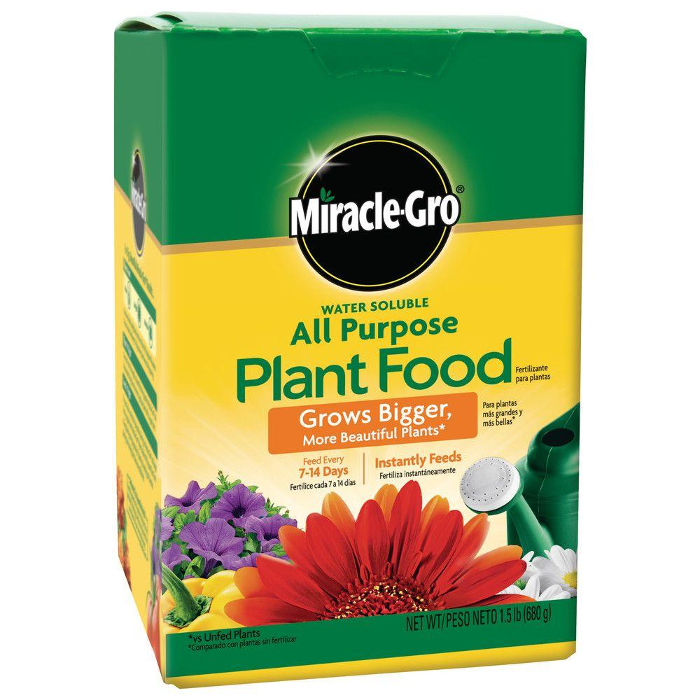 Miracle-Gro Water Soluble 1.5 lb. All-Purpose Plant Food