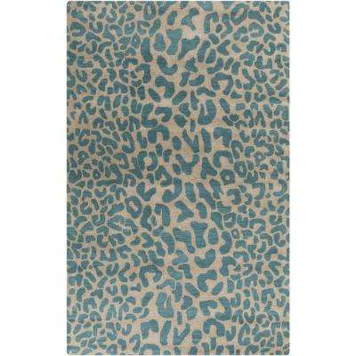 Bicauri Teal 8 Ft X 10 Indoor Area Rug