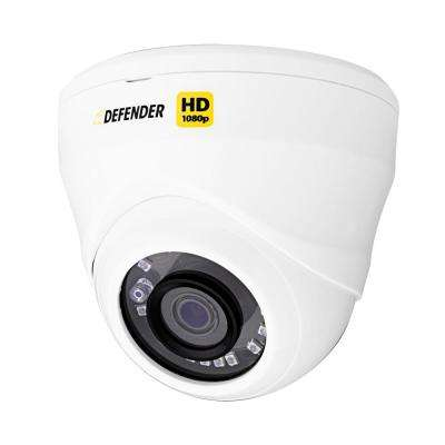 HD 1080p Wired Indoor or Outdoor Long Range Night Vision Dome Security Standard Surveillance Camera