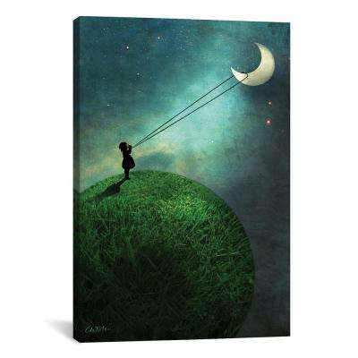 Chasing The Moon by Catrin Welz-Stein Wall Art