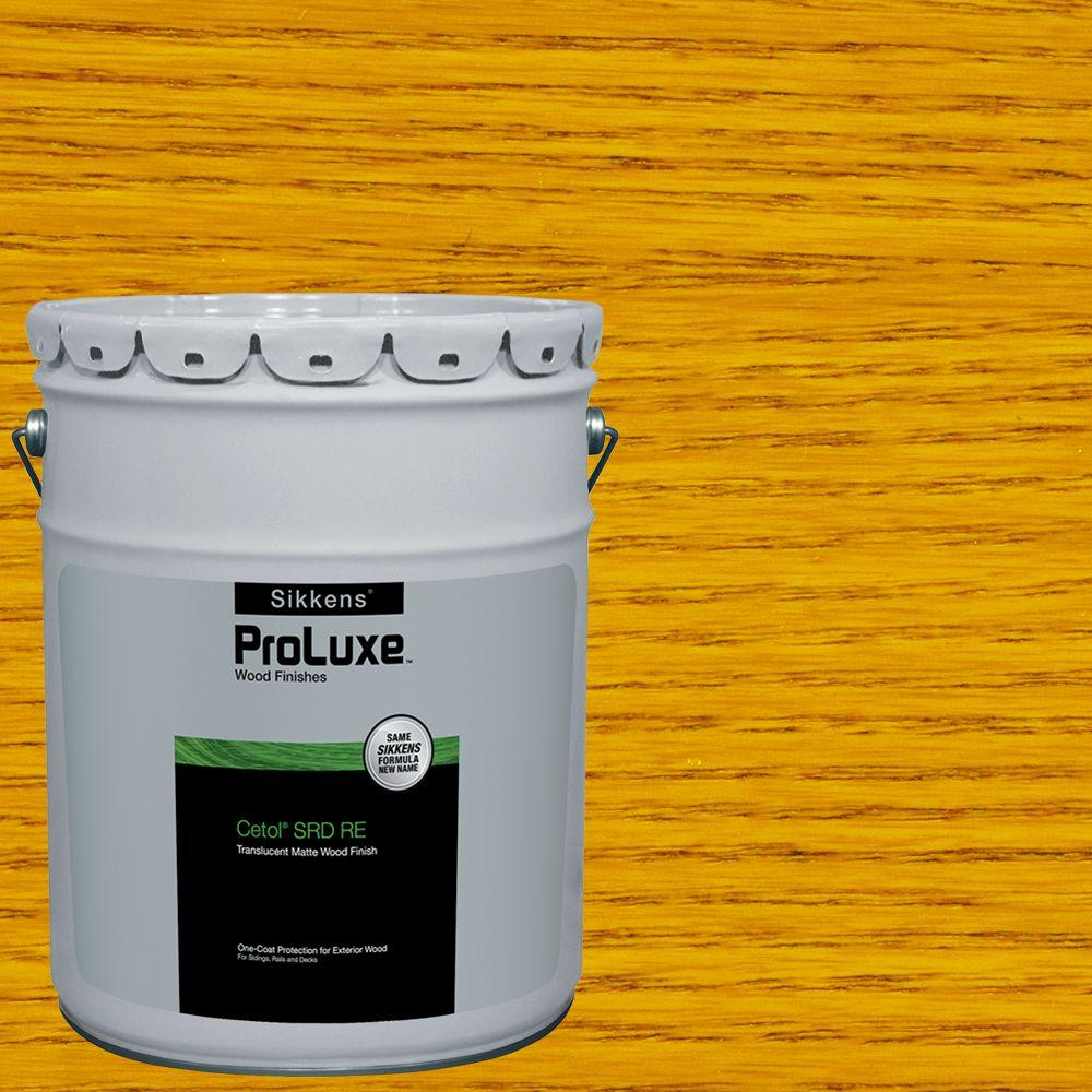 Sikkens Proluxe 5 Gal Natural Cetol Srd Re Exterior Wood Finish Sik250 078 05 The Home Depot