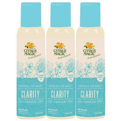 8 oz. ZenScents Aromatherapy Spray Air Freshener, Clarity (Pack of 3)