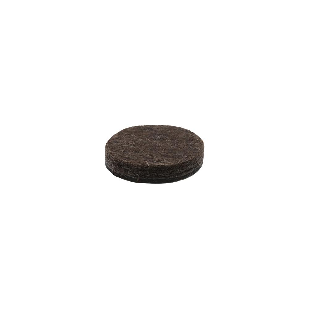 Heavy Duty Self Adhesive Brown Felt Pads 48 Pack