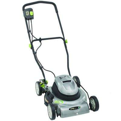 18 in. 12 Amp Corded Electric Walk Behind Lawn Push Mower