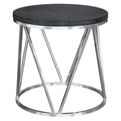 Kate Grey Top End Table