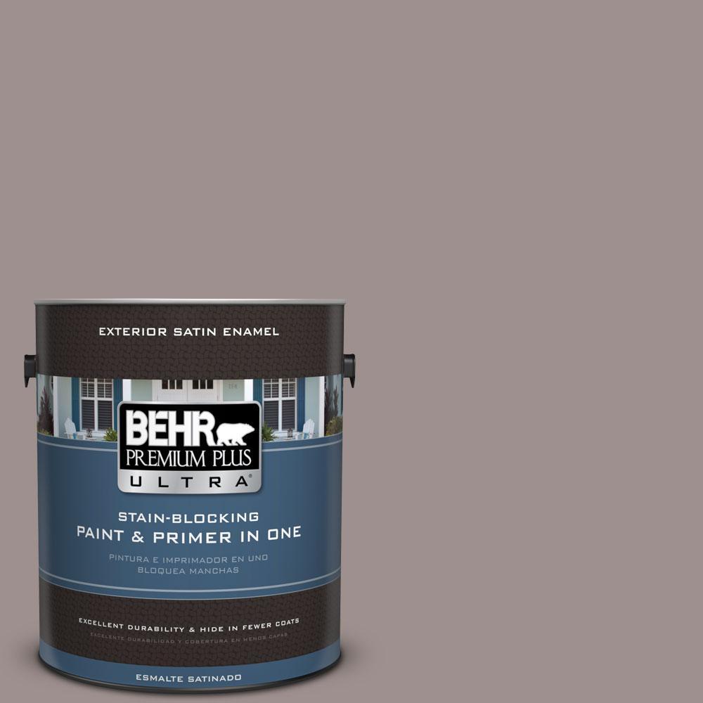 BEHR Premium Plus Ultra 1-gal. #780B-5 Cheyenne Rock Satin Enamel Exterior Paint