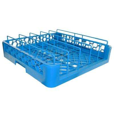 19.75x19.75 in. Dishwashing Rack for Plate Covers in Blue (Case of 3)