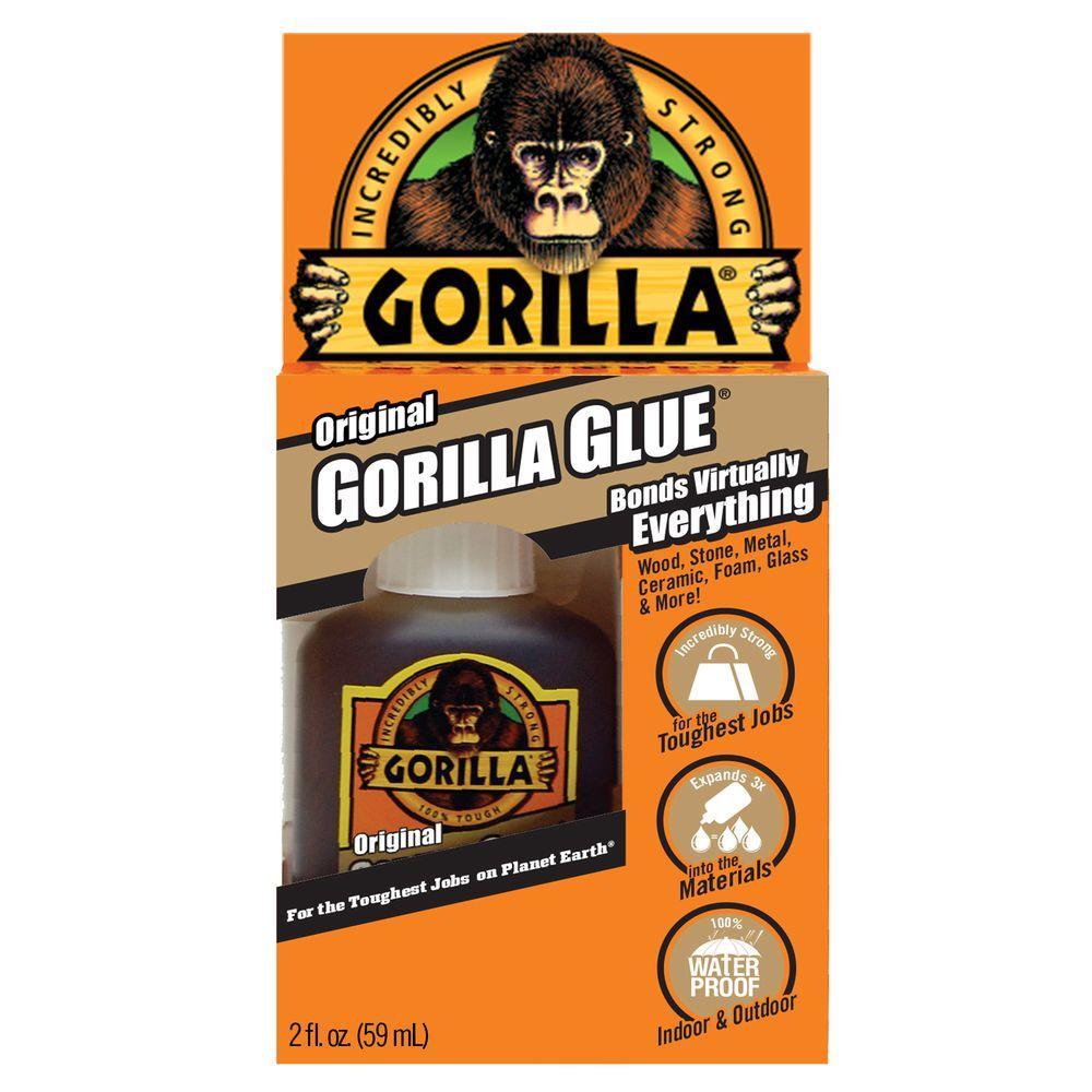 Gorilla Glue Original 2 Oz Glue 16 Pack 50002 The