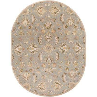 Cyrus Gray 8 ft. x 10 ft. Oval Indoor Area Rug