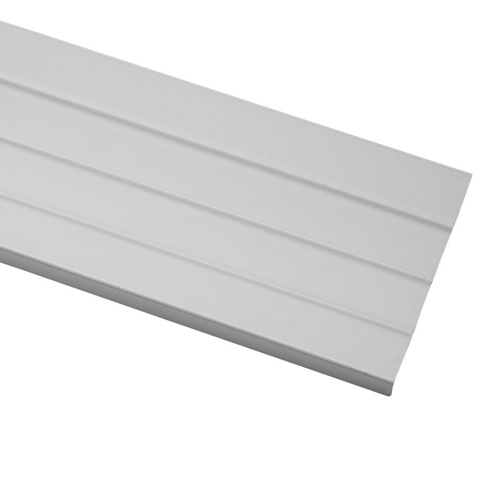 Ply Gem 0 09 In X 8 In X 12 5 Ft White Vinyl Fascia Vfas804h The Home Depot