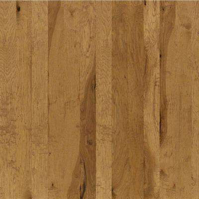 Take Home Sample - Western Hickory Desert Gold Engineered Hardwood Flooring - 3-1/4 in. x 10 in.