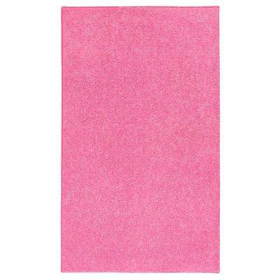 OurSpace Pink 7 ft. x 10 ft. Bright Area Rug