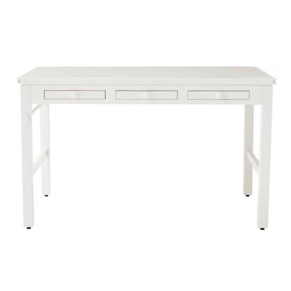 Martha Stewart Living Kids 43 In. W Picket Fence Craft Table With Paper Roll