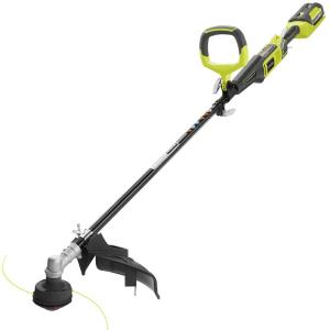 Click here to buy Ryobi Reconditioned 40-Volt X Lithium-Ion Attachment Capable Cordless String Trimmer - 2.6 Ah Battery and... by Ryobi.