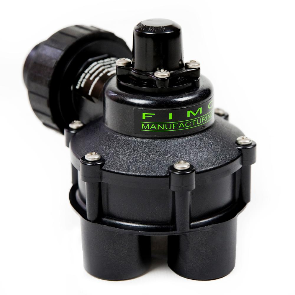FIMCO 1 in. Mini 4 Outlet Indexing Valve with 2, 3 and 4 Zone Cams