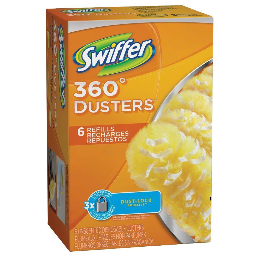Swiffer 360 Degree Dusters Unscented Disposable Refills 6